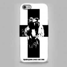 """Чехол для телефона iPhone 5 0104 """"Лев"""""""