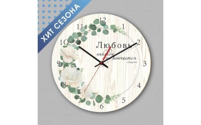 Хит сезона - деревянные интерьерные часы!