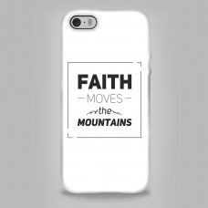 Чехол для телефона 0035.02 Вера может двигать горы