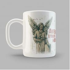 """Кружка керамика """"Ангелы"""" 0046.kr01"""